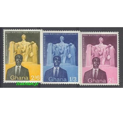 Znaczek Ghana 1959 Mi 39-41 Czyste **