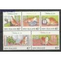 Nowa Zelandia 1991 Mi 1171-1175 Czyste **
