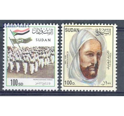 Znaczek Sudan 2003 Mi 567-568 Czyste **