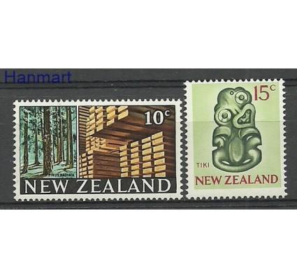 Znaczek Nowa Zelandia 1968 Mi 480-481 Czyste **