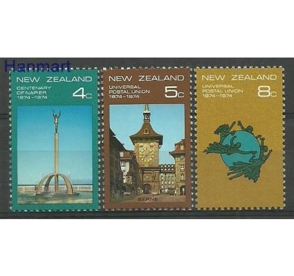 Znaczek Nowa Zelandia 1974 Mi 630-632 Czyste **