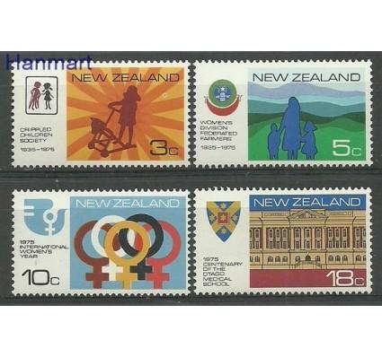 Znaczek Nowa Zelandia 1975 Mi 647-650 Czyste **