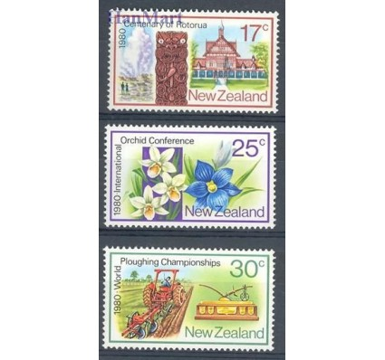 Znaczek Nowa Zelandia 1980 Mi 793-795 Czyste **
