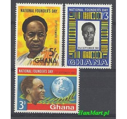 Ghana 1961 Mi 106-108 Czyste **