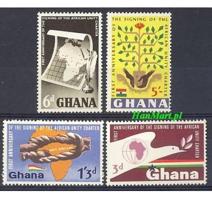 Znaczek Ghana 1964 Mi 177-180 Czyste **