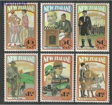 Znaczek Nowa Zelandia 1992 Mi 1261-1266 Czyste **