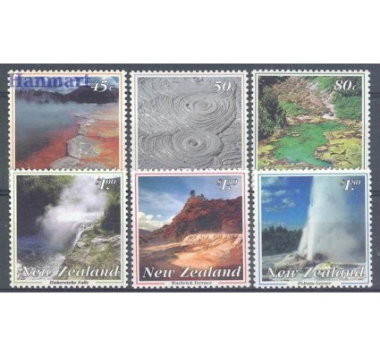 Znaczek Nowa Zelandia 1993 Mi 1284-1289 Czyste **
