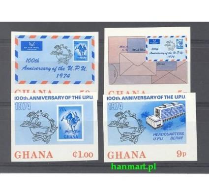 Znaczek Ghana 1974 Mi 548-551B Czyste **