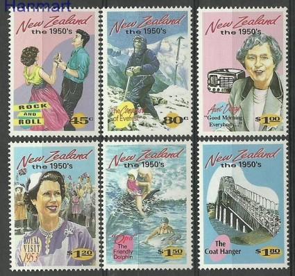 Znaczek Nowa Zelandia 1994 Mi 1334-1339 Czyste **