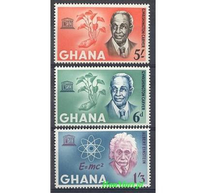 Znaczek Ghana 1964 Mi 195-197 Czyste **