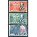 Ghana 1964 Mi 195-197 Czyste **