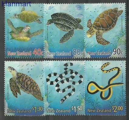 Znaczek Nowa Zelandia 2001 Mi 1890-1895 Czyste **