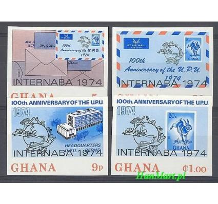 Znaczek Ghana 1974 Mi 556-559B Czyste **