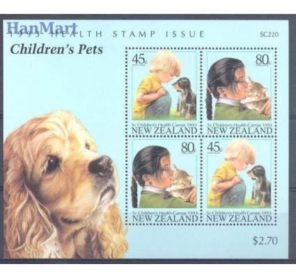 Znaczek Nowa Zelandia 1993 Mi bl 36 Czyste **