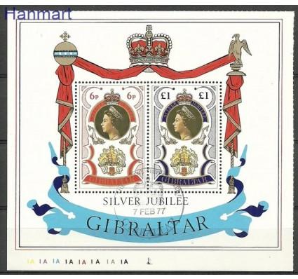 Znaczek Gibraltar 1977 Mi bl 3 Stemplowane