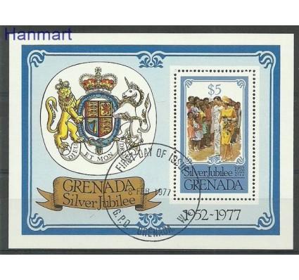 Znaczek Grenada 1977 Mi bl 63 Stemplowane
