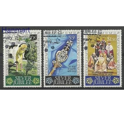 Znaczek St. Christopher Nevis Anguilla 1977 Mi 325-327 Stemplowane