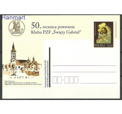 Znaczek Polska 2007 Fi Cp 1436 Całostka pocztowa