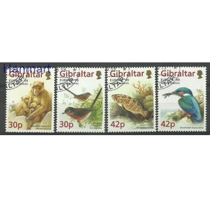 Znaczek Gibraltar 1999 Mi 852-855 Stemplowane