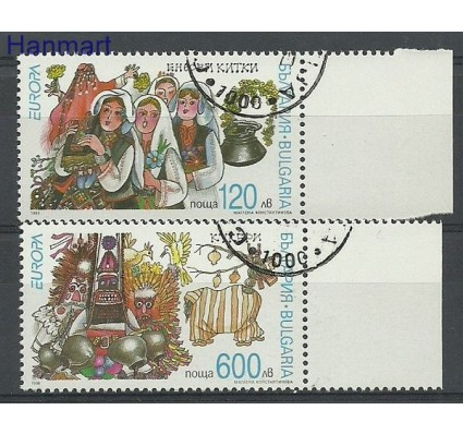 Znaczek Bułgaria 1998 Mi 4332-4333 Stemplowane