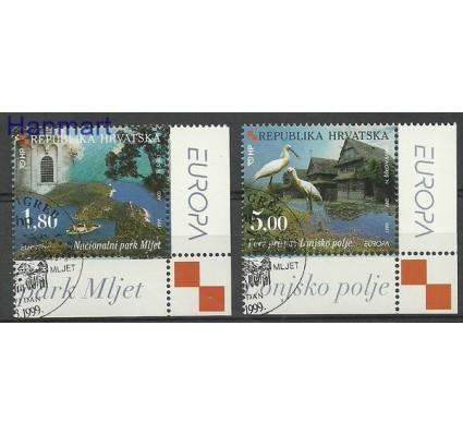 Znaczek Chorwacja 1999 Mi 498-499 Stemplowane