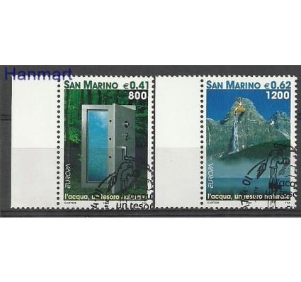 Znaczek San Marino 2001 Mi 1950-1951 Stemplowane
