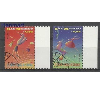Znaczek San Marino 2002 Mi 2018-2019 Stemplowane