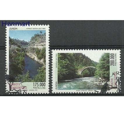 Znaczek Turcja 1999 Mi 3179-3180 Stemplowane