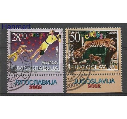 Znaczek Jugosławia 2002 Mi 3076-3077 Stemplowane