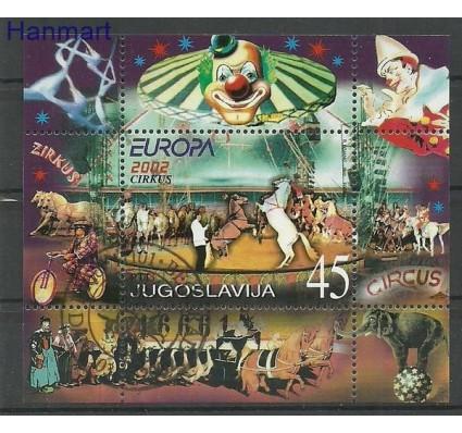 Znaczek Jugosławia 2002 Mi bl 53 Stemplowane