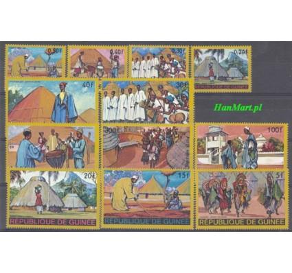 Znaczek Gwinea 1968 Mi 468-479 Czyste **