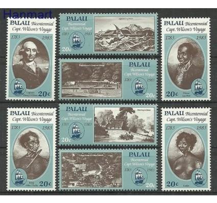 Znaczek Palau 1983 Mi 29-36 Czyste **