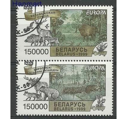 Znaczek Białoruś 1999 Mi 316-317 Stemplowane
