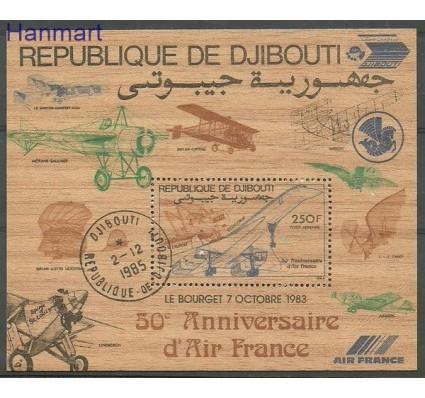 Znaczek Dżibuti 1983 Mi bl 87 Stemplowane
