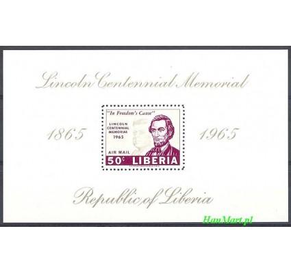 Znaczek Liberia 1965 Mi bl 33 Czyste **