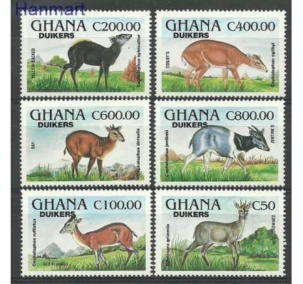 Znaczek Ghana 1994 Mi 2081-2086 Czyste **