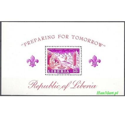 Znaczek Liberia 1967 Mi bl 40 Czyste **