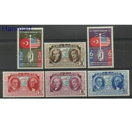 Znaczek Turcja 1939 Mi 1047-1052 Czyste **