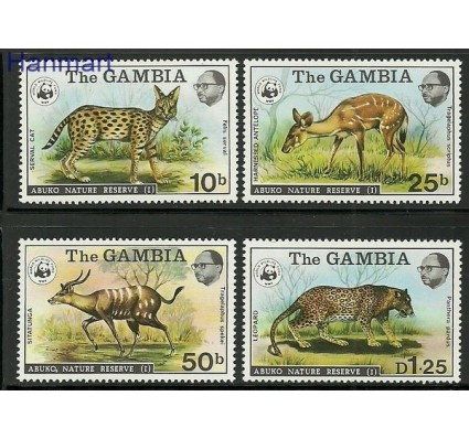 Znaczek Gambia 1976 Mi 332-335 Czyste **