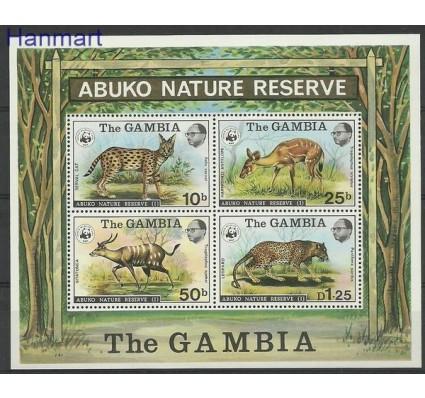 Znaczek Gambia 1976 Mi bl 2 Czyste **