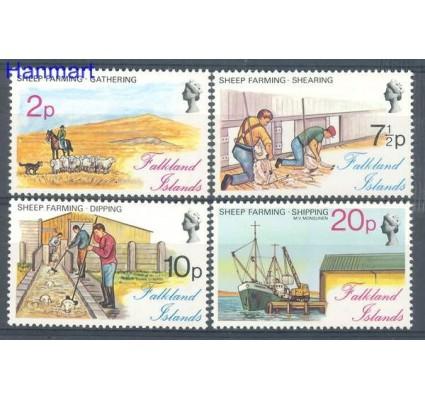 Znaczek Falklandy 1976 Mi 245-248 Czyste **