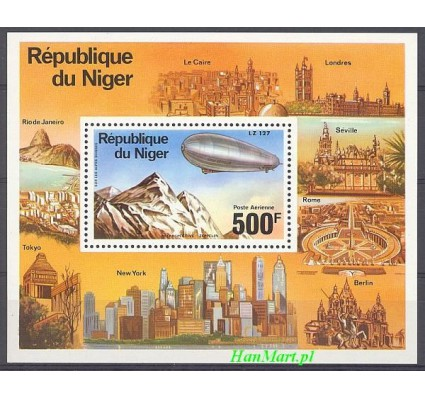 Znaczek Niger 1976 Mi bl 14 Czyste **