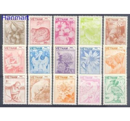 Znaczek Wietnam 1984 Mi 1529-1543 Czyste **