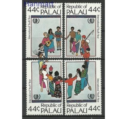 Znaczek Palau 1985 Mi 80-83 Czyste **
