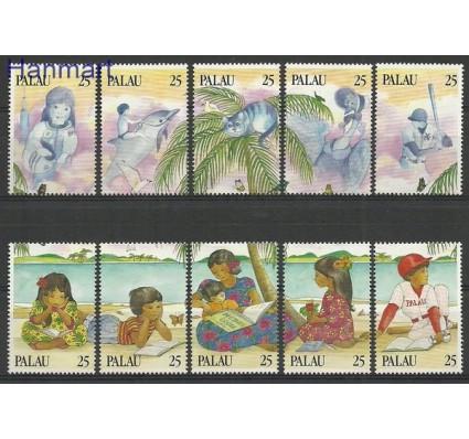 Znaczek Palau 1989 Mi 308-317 Czyste **