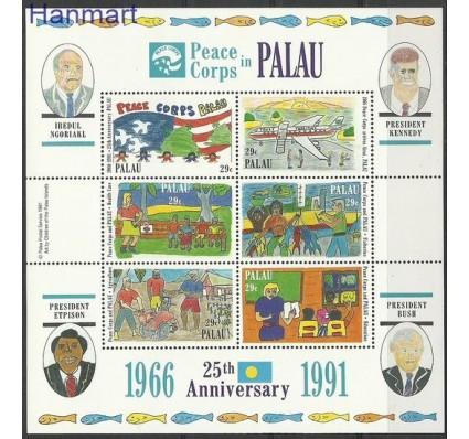 Znaczek Palau 1991 Mi bl 12 Czyste **