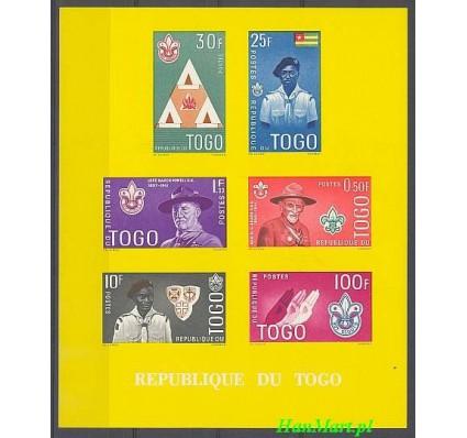 Znaczek Togo 1961 Mi bl 5a Czyste **
