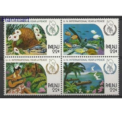 Znaczek Palau 1986 Mi 154-157 Czyste **