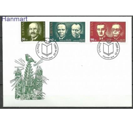 Znaczek Litwa 1998 Mi 665-667 FDC