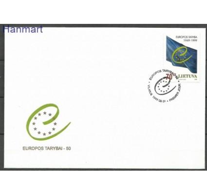 Znaczek Litwa 1999 Mi 695 FDC